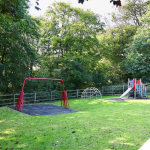 Vandalism to play parks