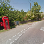 Have Your Say - Telephone Box at Bush