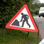 Roadworks- County Road, Bude