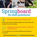 Springboard- The Ideas Greenhouse